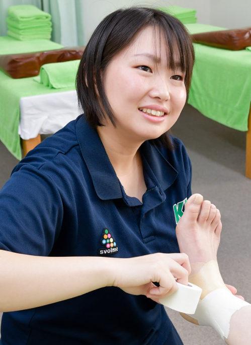 株式会社ケッズトレーナー  ケッズ鍼灸接骨院中野 吉田先生
